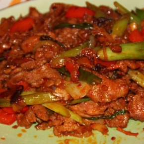 Tina's fav – Korean Chilli Pork