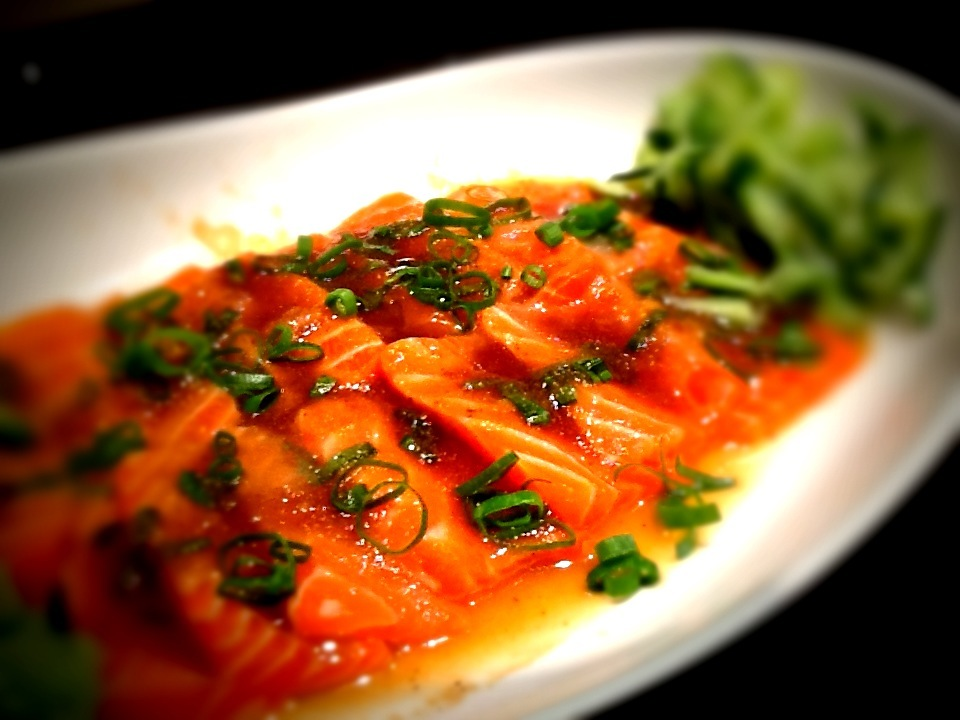 salmon ceviche with citrus ponzu fabulousandtasty