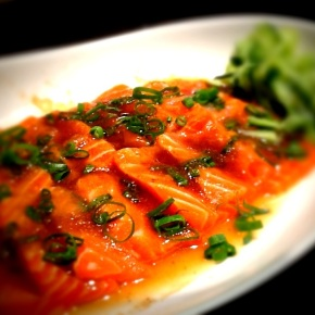 Salmon Ceviche with Citrus Ponzu