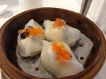 Prawn and black fungus dumpling