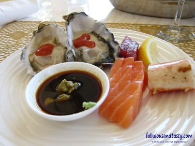 Cold seafood entrees
