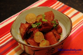 Buta No Kakuni (Japanese Braised Pork)