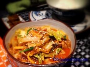 Kimchi Stew with Pork Belly (KimchiJjiage)